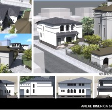 Proiect – anexe biserica