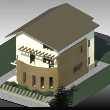 Proiect casa cu pod