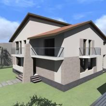 Proiect casa p+1 modern