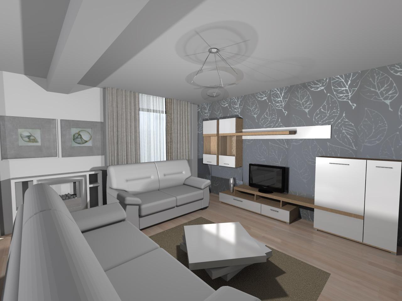 Amenajare living modern for Living moderni