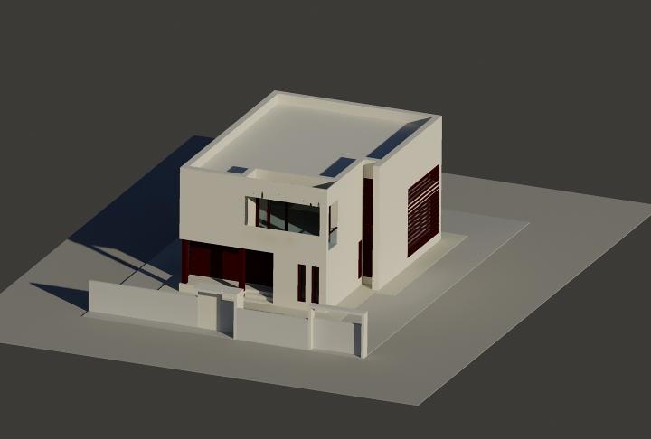 Proiect casa moderna for Casa moderna 1
