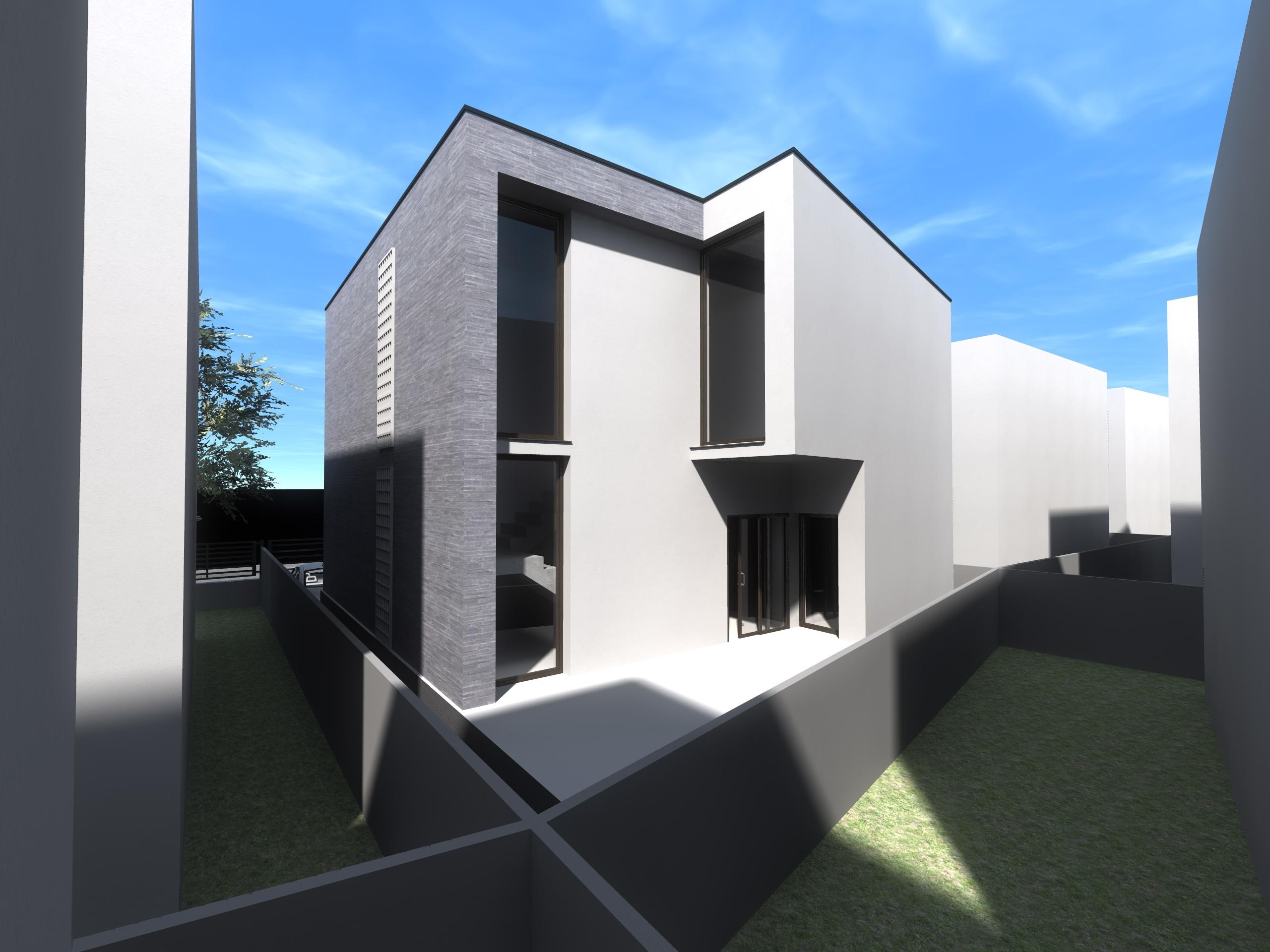 Proiect casa p 1 volum compact for Casa moderna 1 11 2