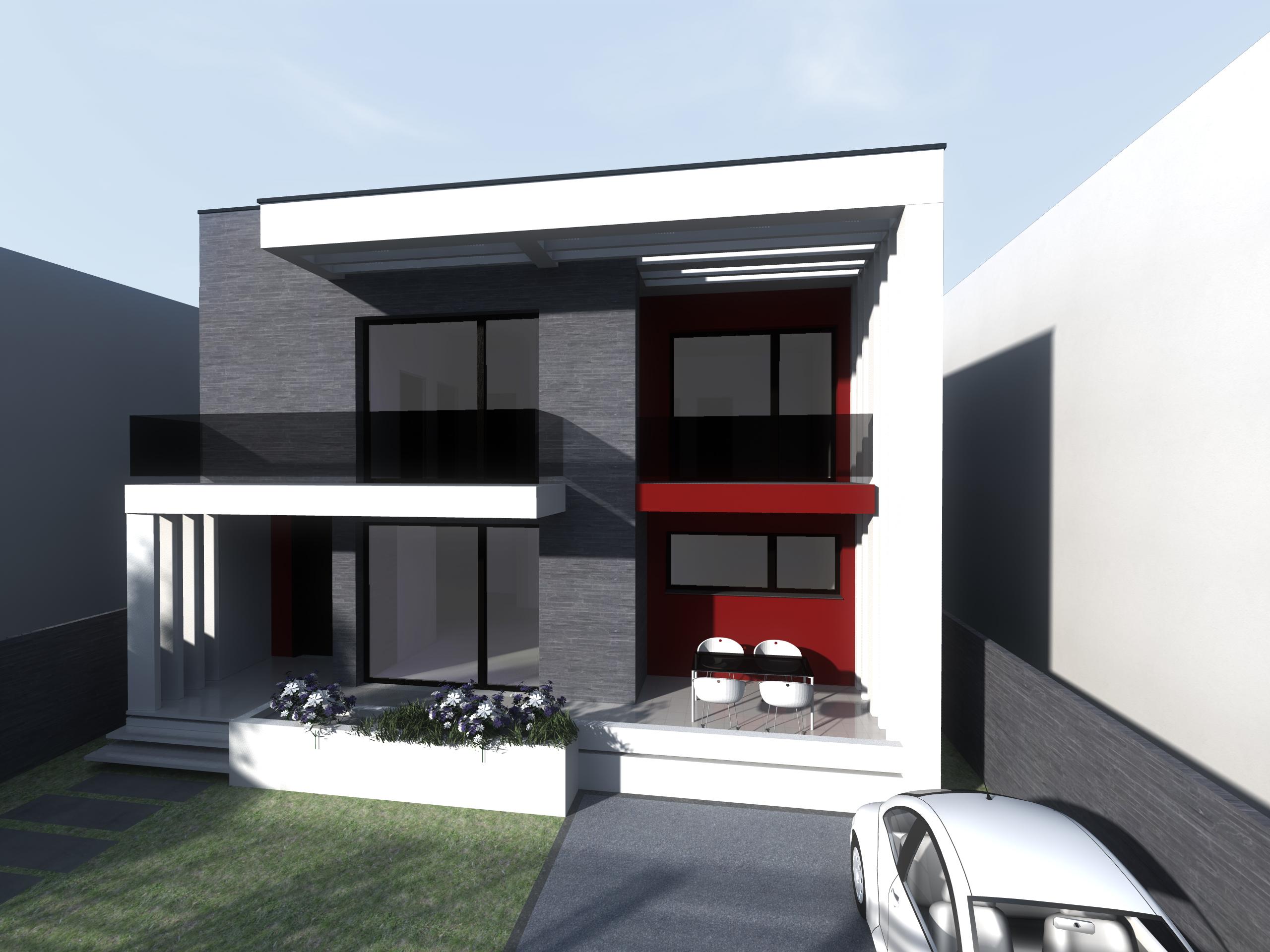 Proiect casa parter si etaj modern for Proiecte case cu etaj si terasa